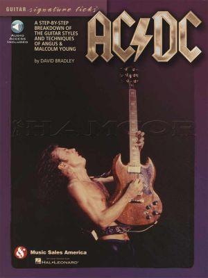 AC/DC Guitar Signature Licks Book/Audio