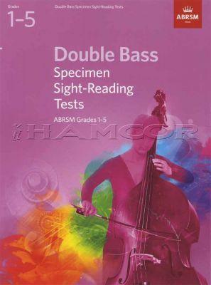 Double Bass Specimen Sight-Reading Tests ABRSM Grades 1-5