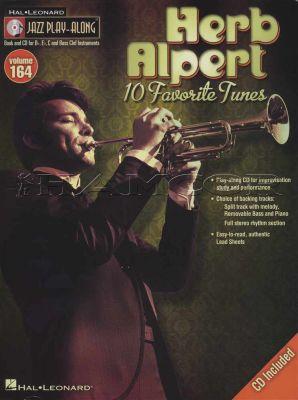 Herb Alpert Jazz Play-Along Volume 164 Book/CD