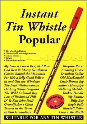 Instant Tin Whistle Popular Book/CD