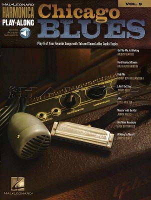 Chicago Blues Harmonica Play-Along Vol 9 Book/Audio