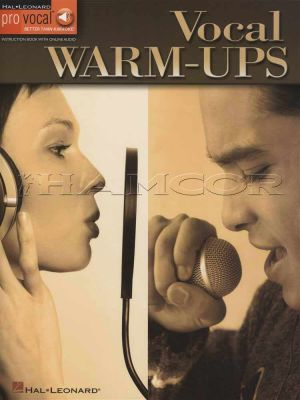 Vocal Warm-Ups Pro Vocal Book/Audio