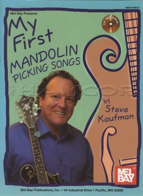 My First Mandolin Picking Songs Book/CD
