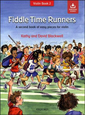 Fiddle Time Runners Book/Audio