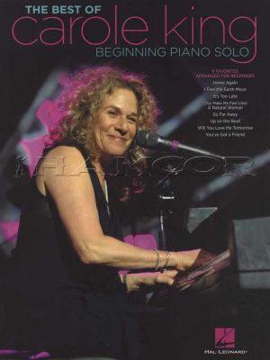 The Best of Carole King Beginning Piano Solo