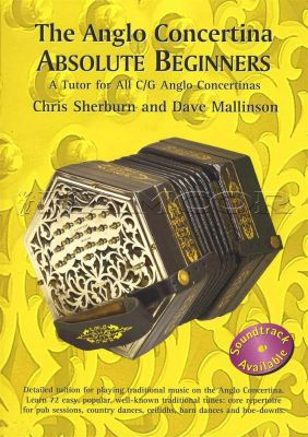 The Anglo Concertina Absolute Beginners Book Only