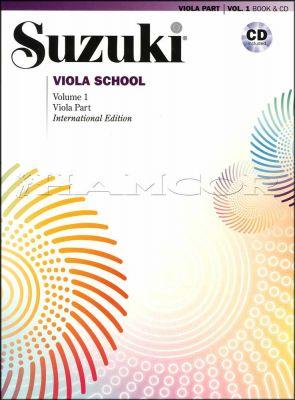 Suzuki Viola School Volume 1 Book/CD