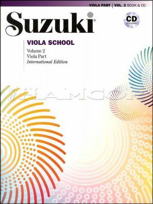 Suzuki Viola School Volume 2 Book/CD