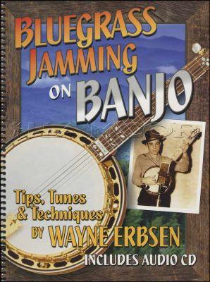 Bluegrass Jamming on Banjo Book/CD