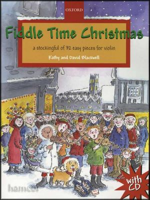 Fiddle Time Christmas Book/CD