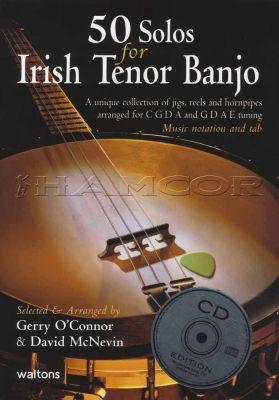 50 Solos for Irish Tenor Banjo Book/CD