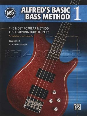 Alfred's Basic Bass Method 1 Book Only