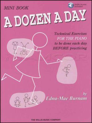 A Dozen a Day Mini Book Book/Audio