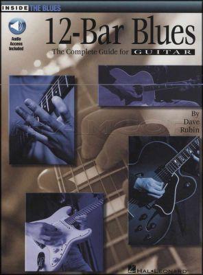 12-Bar Blues Book/Audio