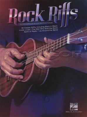 Rock Riffs for Ukulele with TAB