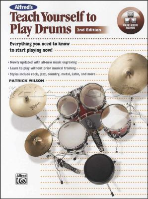 Teach Yourself to Play Drums Book/Audio/Video