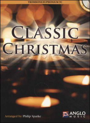 Classic Christmas Trombone/Euphonium TC Book/CD