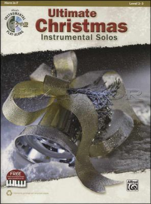 Ultimate Christmas Instrumental Solos F Horn Book/MP3 CD