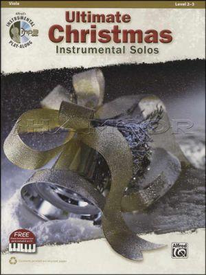 Ultimate Christmas Instrumental Solos Viola Book/MP3 CD