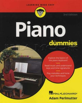 Piano for Dummies 3rd Edition Book/Audio/Video
