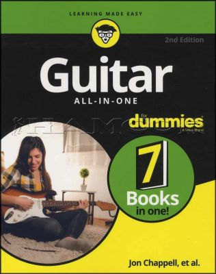 Guitar All-In-One for Dummies 2nd Edition Book/Audio