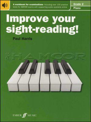 Improve Your Sight-Reading Piano Grade 2 Book/Audio
