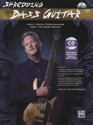 Shredding Bass Guitar Book/CD