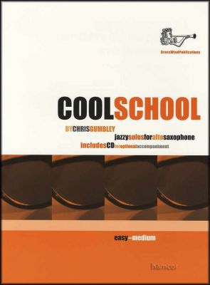 Cool School Jazzy Solos for Alto Saxophone Book/CD
