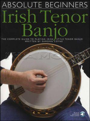 Absolute Beginners Irish Tenor Banjo Book/Audio