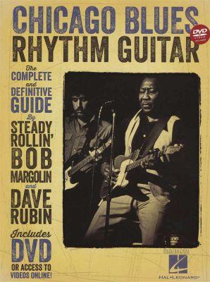 Chicago Blues Rhythm Guitar Book/DVD