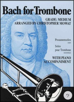 Bach for Trombone Bass Clef Book Only