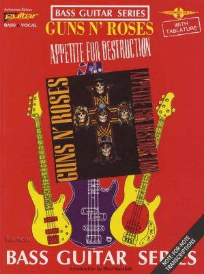 Guns N Roses Appetite for Destruction Bass Guitar