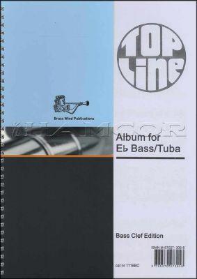 Top Line Album for Eb Bass/Tuba Bass Clef