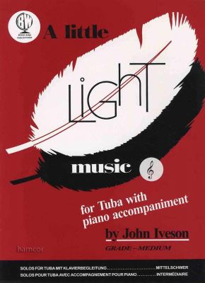 A Little Light Music for Tuba Treble Clef Book Only