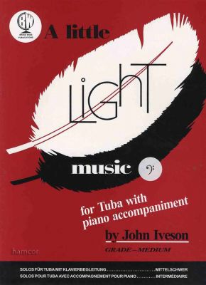 A Little Light Music for Tuba Bass Clef Book Only