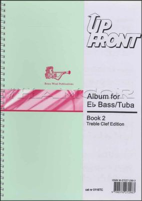 Up Front Album for Eb Bass/Tuba Book 2 Treble Clef