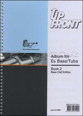 Up Front Album for Eb Bass/Tuba Book 2 Bass Clef