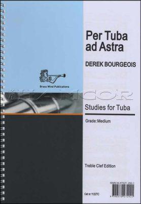 Per Tuba Ad Astra Studies for Tuba Treble Clef Book Only