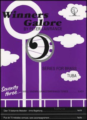 Winners Galore for Tuba Bass Clef Book Only