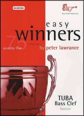 Easy Winners Tuba Bass Clef Book/CD