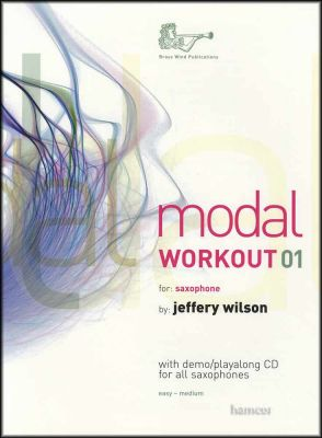 Modal Workout 01 for Saxophone Book/CD