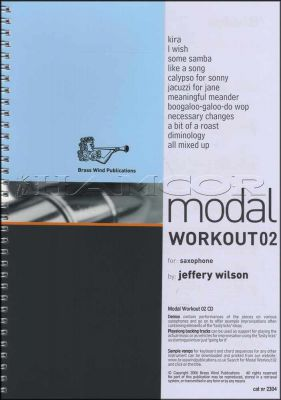 Modal Workout 02 for Saxophone Book/CD