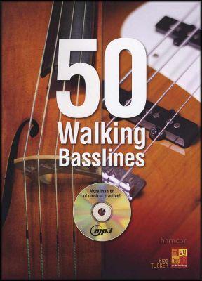 50 Walking Basslines Book/MP3-CD