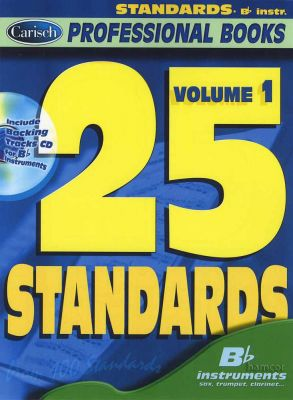 25 Standards Vol 1 Bb Instruments Book/CD