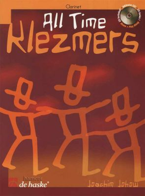 All Time Klezmers Clarinet Book/CD