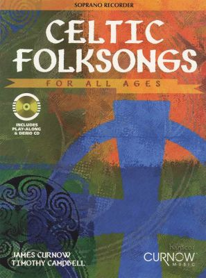 Celtic Folksongs for All Ages Soprano Recorder Book/CD