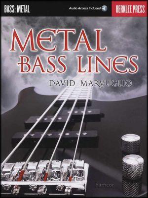 Metal Bass Lines Book/Audio