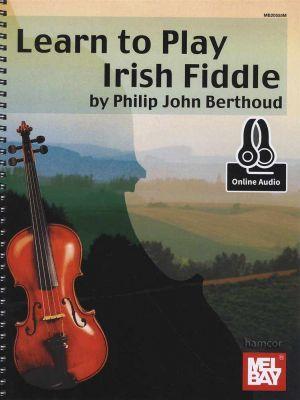 Learn To Play Irish Fiddle Book/Audio