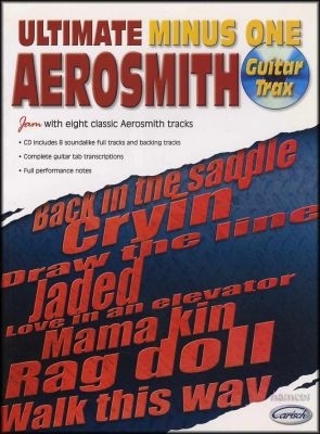 Aerosmith Ultimate Minus One Guitar Trax Book/CD