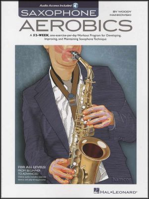 Saxophone Aerobics Book/Audio
